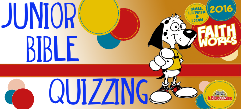 Junior Bible Quizzing 2016 header