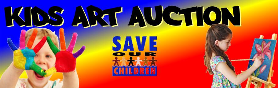 GTT Art Auction title