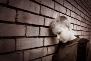 boy depressed
